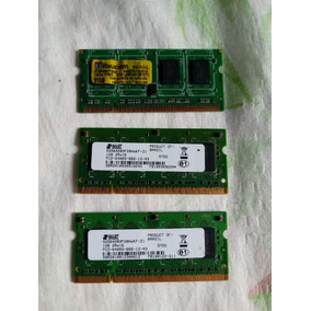 Memoria Ddr2 1+1+1 3gb Smart/itaucom Trio Notebook