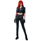 Miccostumes League Of Legends Para Mujeres Assassin Katar