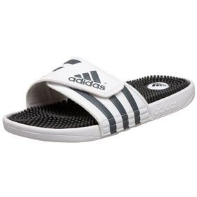 on sale b34f1 d8892 adidas Originals Sandalia Adissage Para Hombre, Blanco   Gra