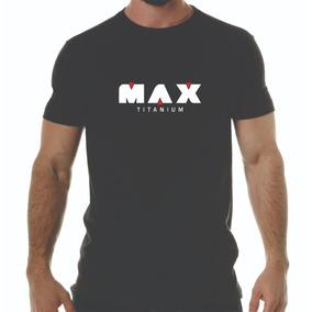 Camiseta Camisa Max Titanium A Melhor - Promoção 754f7911313