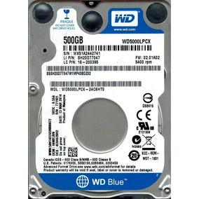 Hd 500gb 5400rpm Sata 2.5 Western Digital Wd5000lpcx