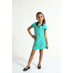 Vestido Polo Infantil - Vestidos Meninas no Mercado Livre Brasil 0574752ad92cf