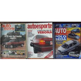 Auto Esporte - Coleção Com 10 Revistas A R$ 19,00 Cada.