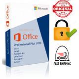 Licencia Office Professional Plus 2013 1 Pc No Vence