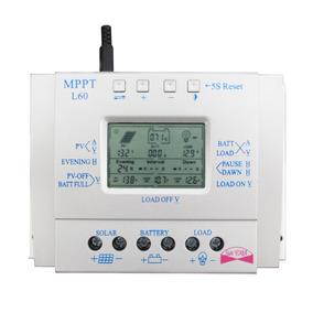 Controlador Solar 60 Amperes Mppt L60 Sun Yoba