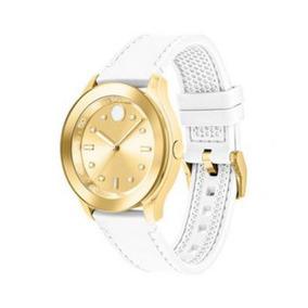 Reloj Movado 3600410 Silicón Blanco Mujer