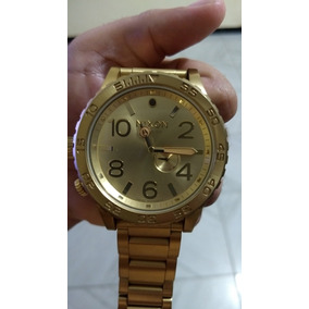 a4a9ef82939 Relogio Nixon Branco Dourado - Relógios De Pulso no Mercado Livre Brasil