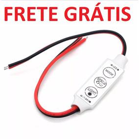 20pcs Mini Controlador Dimmer 12~24v Strobo Flash Fita Led