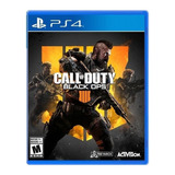 Juego Ps4 Cod Call Of Duty Black Ops 4 Playstation 4 Físico