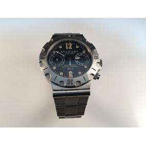 49168549e7ae9 Reloj Bvlgari Diagono Professional Scuba Automático De Acero