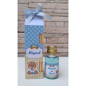 50 Kit Aromatizador Lembrancinha Maternidade Chá Bebê Casame