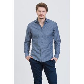Camisa Mendoza Manga Larga Slim Fit Prototype Hombre