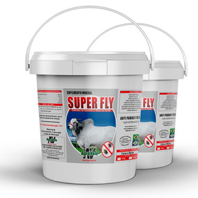 Suplemento Mineral Superfly 10kg, Contra Mosca E Carrapato