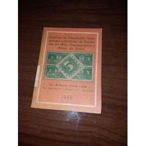 1404- Catálogo De Selos Comemorativos E Aéreos Do Brasil