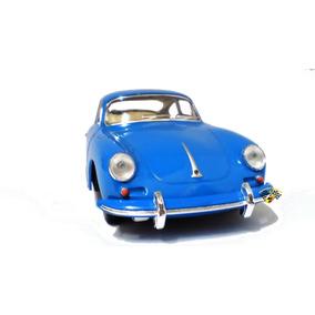 Miniatura Porsche 356 B Carrera 2 Azul 1:32 Kinsmart