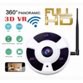 Câmera Ip 2.0mp Panoramica Wireless 360° Full Hd Lançamento