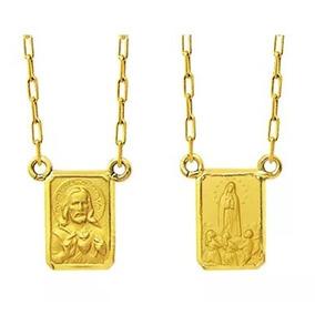 473223949815c Escapulario Nossa Senhora Fatima - Escapulário no Mercado Livre Brasil