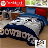 Cobertor Dallas Cowboys Provipolar Ligero Matrimonial