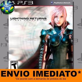 Jogo Ps3 Lightning Returns Final Fantasy 13 Psn Play 3