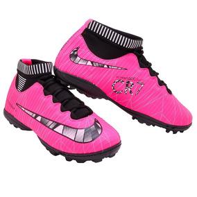 Chuteira Adidas Cr7 - Chuteiras Rosa chiclete no Mercado Livre Brasil 06d149e541138