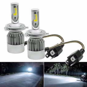 Kit Lampada Led Automotivo 72w 6000k 7200lumens Super Branca