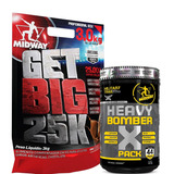 Get Big 25.000 3kg + Heavy Bomber X 44packs - Midway