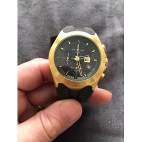 Relógio Quicksilver Dourado Perfeito Porém Sem A Pulseira