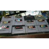 Super Nintendo Juegos Originales