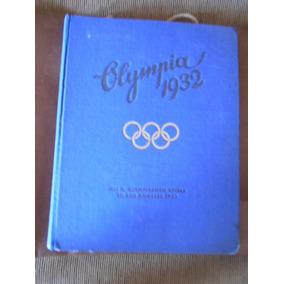 Livro Figurinhas Jogos Olímpicos 1932 Alemanha 2ª Guerra