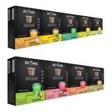 Nespresso 120 Cápsulas Compatíveis Chá Aroma