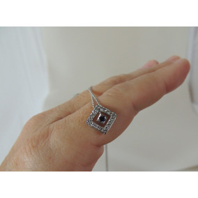 Tiffany & Co Colar Gargantilha Platina Diamante Safira Natal