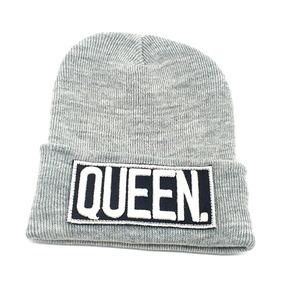 Gorros De Lana King Queen Bordados Relieve Calidad Premium ·   950 24 2b10a95a6f4