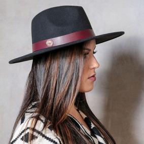 Chapeu Fedora Feminino Aba Grande - Chapéus no Mercado Livre Brasil aac3915c17e