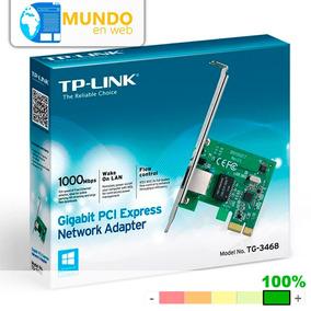 Tarjeta De Red Lan Pci Express X1 Gigabit Tp-link Tg-3468 Pc