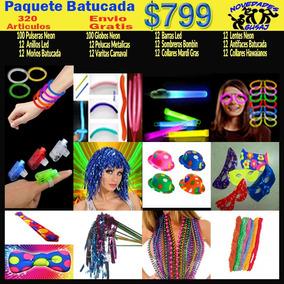 Paquete Batucada Fiesta Boda Xv Años Neon $799 Envio Gratis