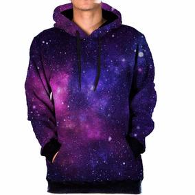 804e9014f Blusa Moletom Bolso Lateral Galaxia Nebulosa Tumblr Swag 9