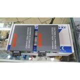 Media Converter Fibra Optica 1000 Mbps Puerto Sc Sm 25km Gb