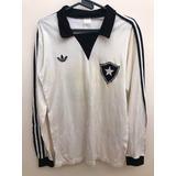 Camisa Botafogo N°15 Antiga adidas Anos 80 Mangas Longas dee358cd1d113