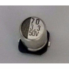 10 X Cap. Eletrolitico Smd 3,3x50v Frete 15,00