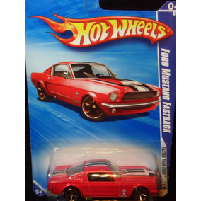 Hot Wheels Ford Mustang Fastback 1965 - Diecast 1:64 - C021