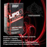 Lipo 6 Black Nutrex 60caps Termogênico Produto Original