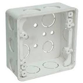 Cajetin Plastico 5x5 Con Tapa