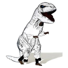 Disfraz Inflable Dinosaurio Jurassic World Brilla En Oscuro
