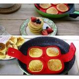 Set 5 Molde Silicón Hotcake, Huevo. Flipping Pancake,