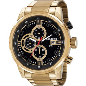 Relógio Mondaine Masculino Analógico 99347gpmvds2 Dourado