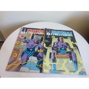 Revista Em Quadrinho Antigo Fantasma Nº 1 E Nº 2 Ano 1989