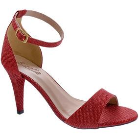 7686044ed8 Sapato De Festa Ouro Velho - Sapatos Vermelho no Mercado Livre Brasil