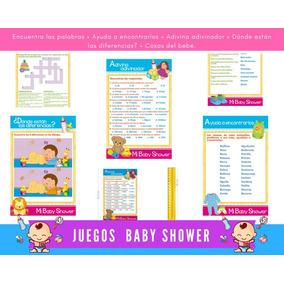 Juego Para Baby Shower Recuerdos Cotillon Y Fiestas En Mercado