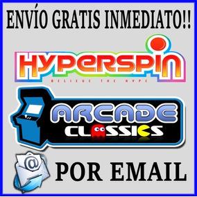 Hyperspin Arcade Completo Envío Gratis Por Email