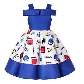 a3fcb1358 Vestido De Graduacion Kinder Ninas Azul Rey - Vestidos Negro en Baja ...